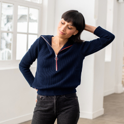 La Marcy - Blauer Pullover