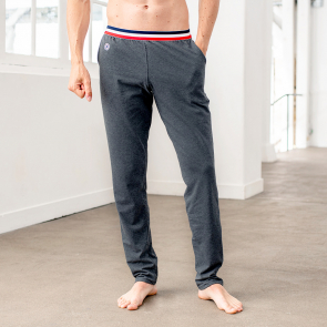 Anthrazitgraue Schlafanzughose