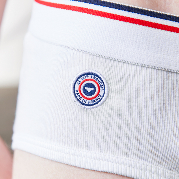 Slip taille basse en coton