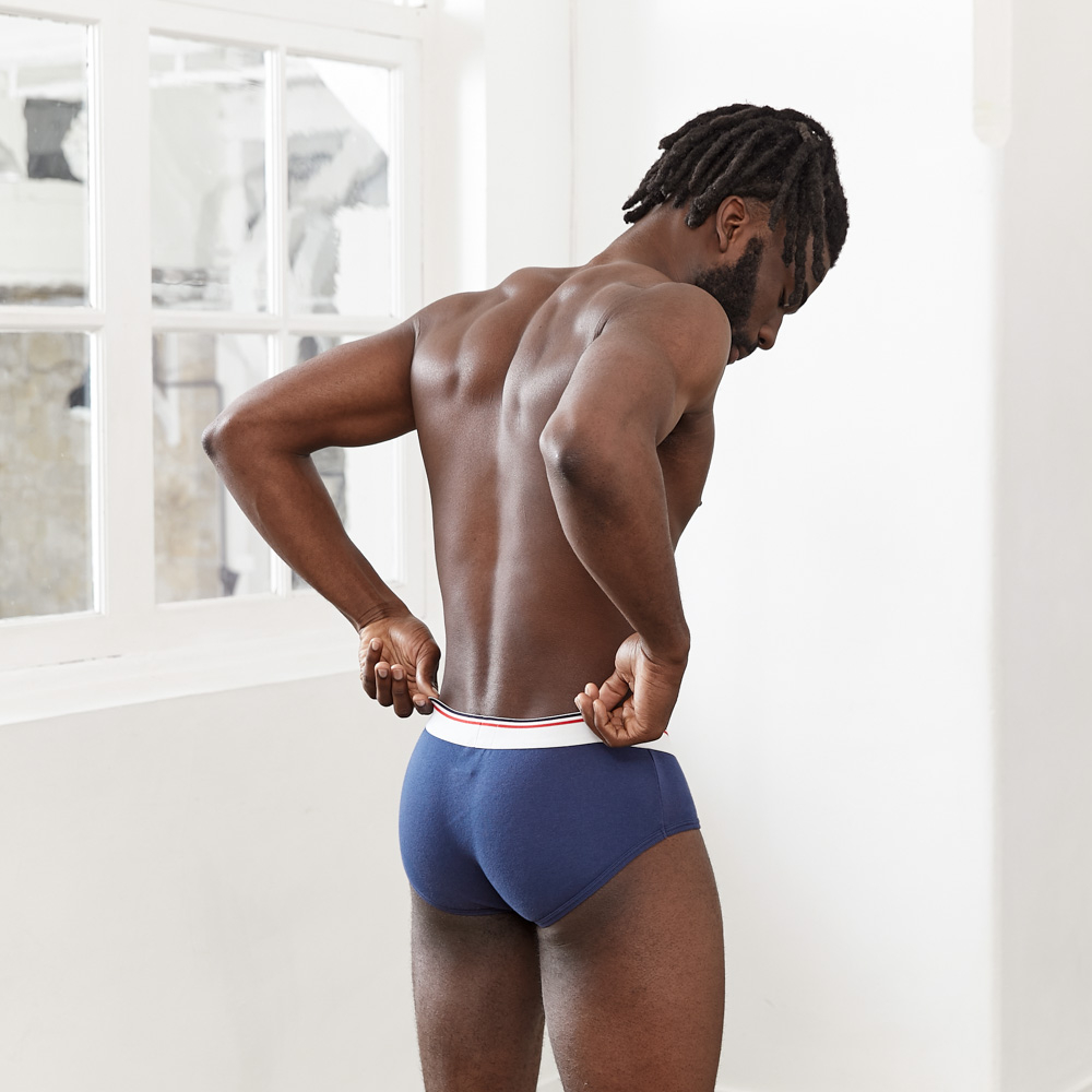 L'Intrépide - Blue Briefs