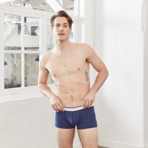 Boxer taille basse en coton