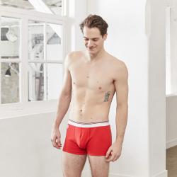 Le Boxer d'Antan - Boxer 100% coton rouge