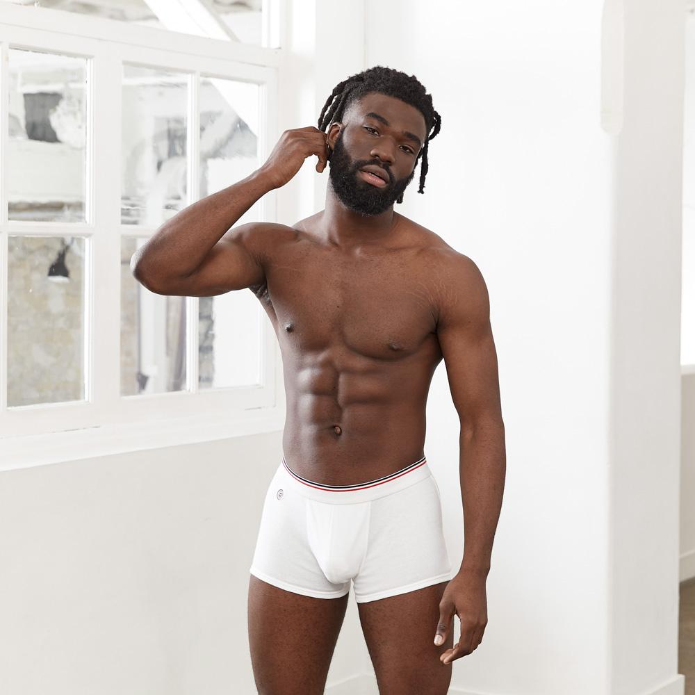 L'Émile - Boxer Blanc