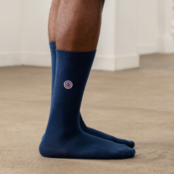 Les Lucas - Blue socks