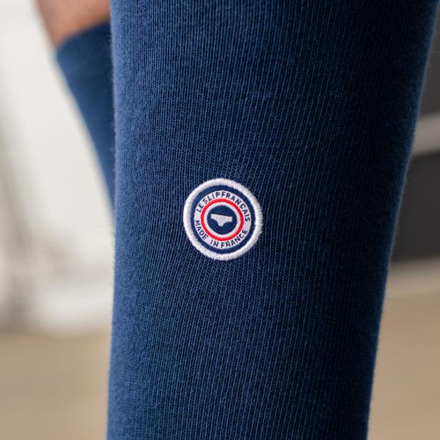Chaussettes mi-hautes en coton