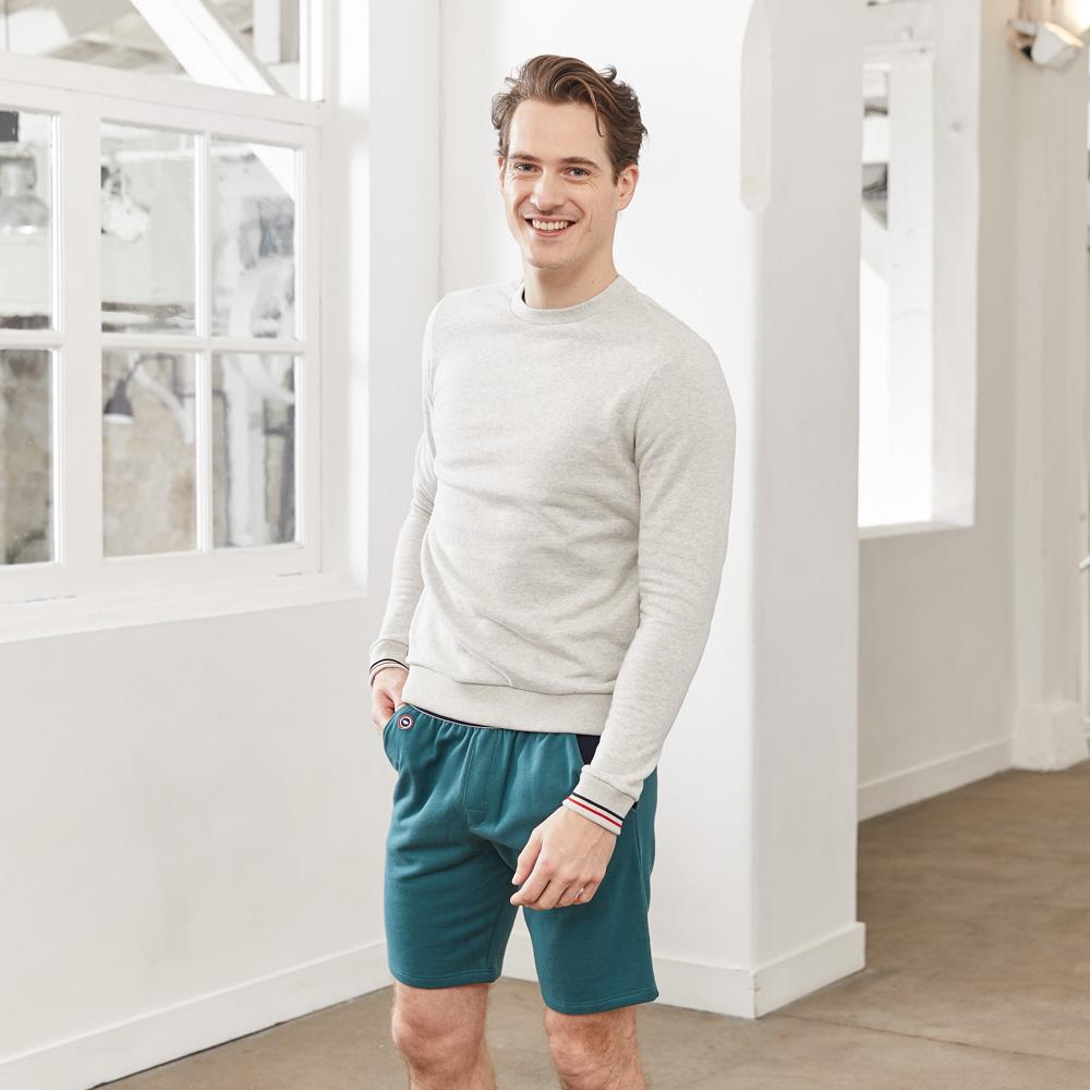 Le Robert - Short de jogging sapin
