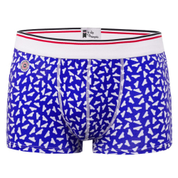 Le danse des Slips - Blue briefs pattern boxer brief