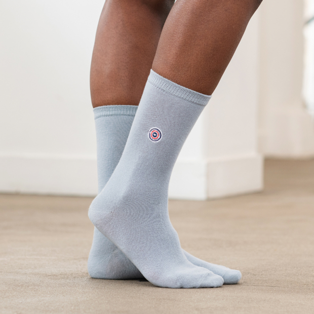 Light grey socks