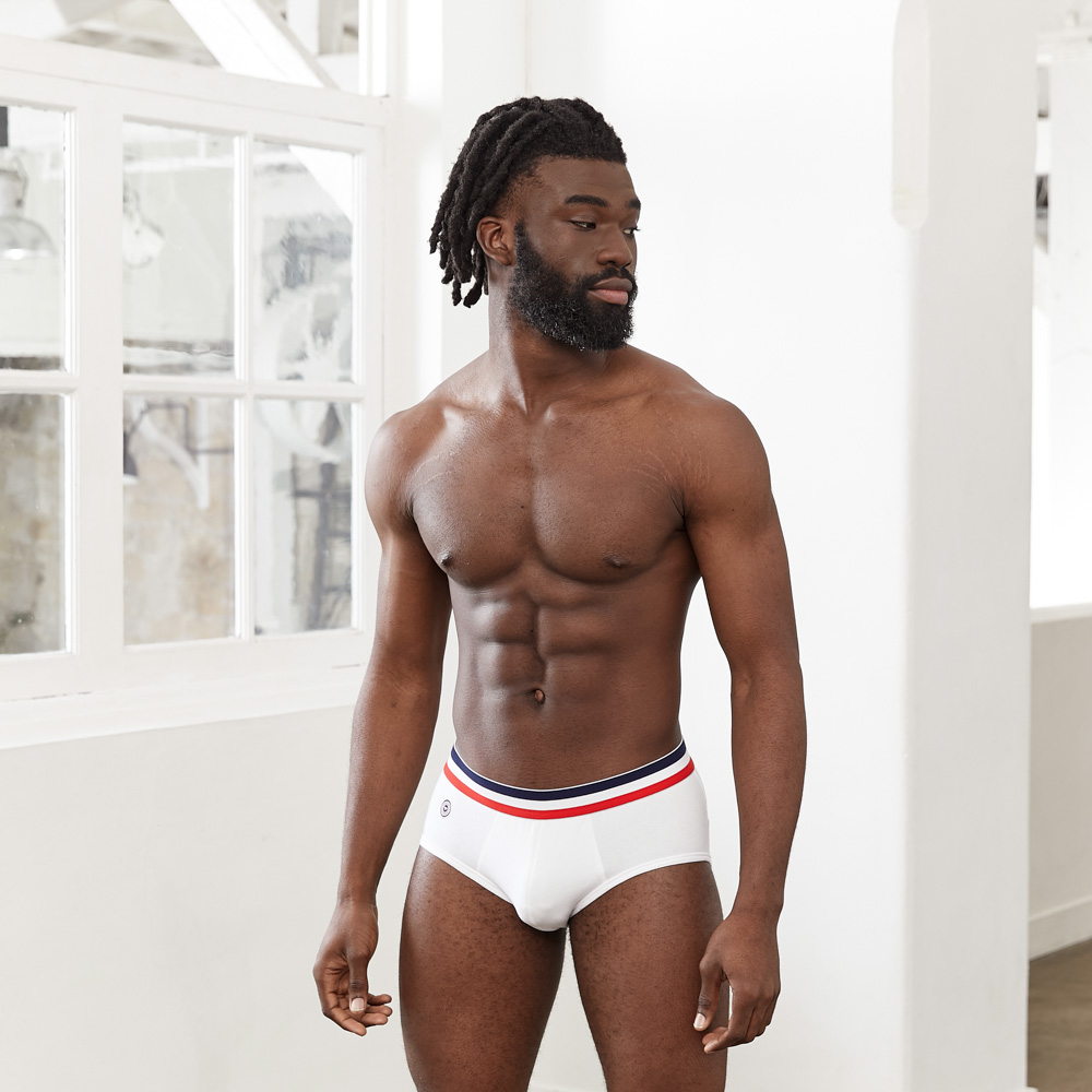 Le Téméraire - White Briefs