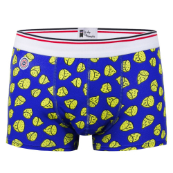 Le citron - Blue lemon pattern boxer brief