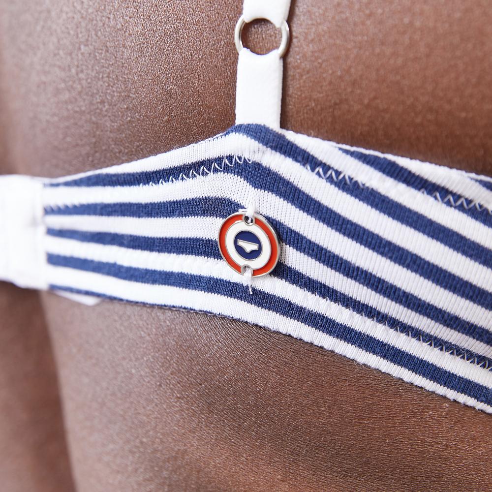 Soutien Gorge Femme Mariniere Bleu Le Slip Français