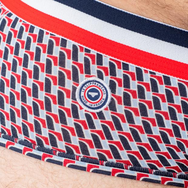 Slip à poche en coton
