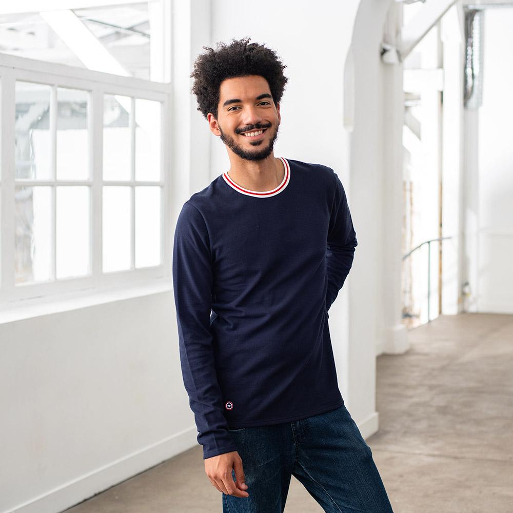 Tshirt Homme Le Paul Marine Le Slip Français