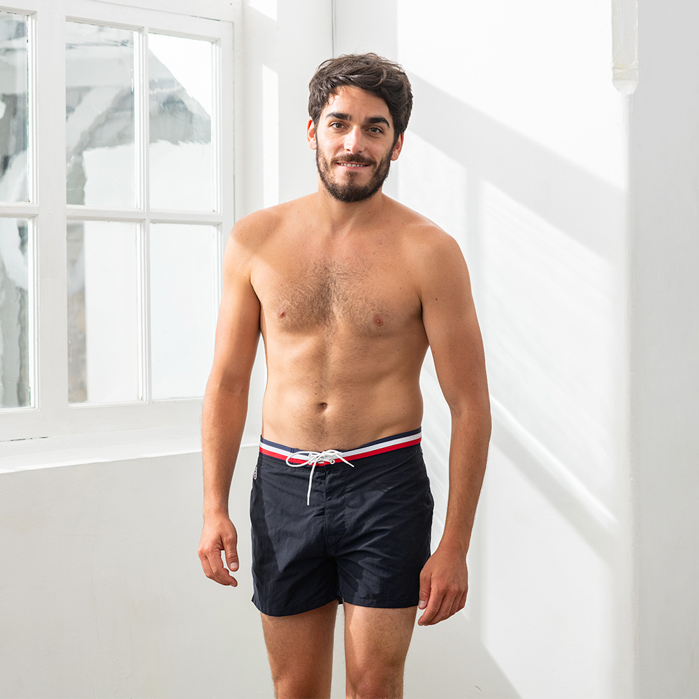 The Barracuda - Black Swim Shorts