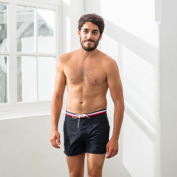 Le Capitaine - Black swim short