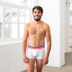 Le Ferdinand - White boxer brief with pouch