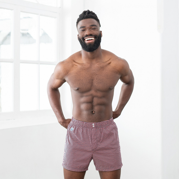 Unisex cotton poplin boxer shorts