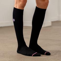 Les Daniel - Chaussettes homme hautes noires drapeau