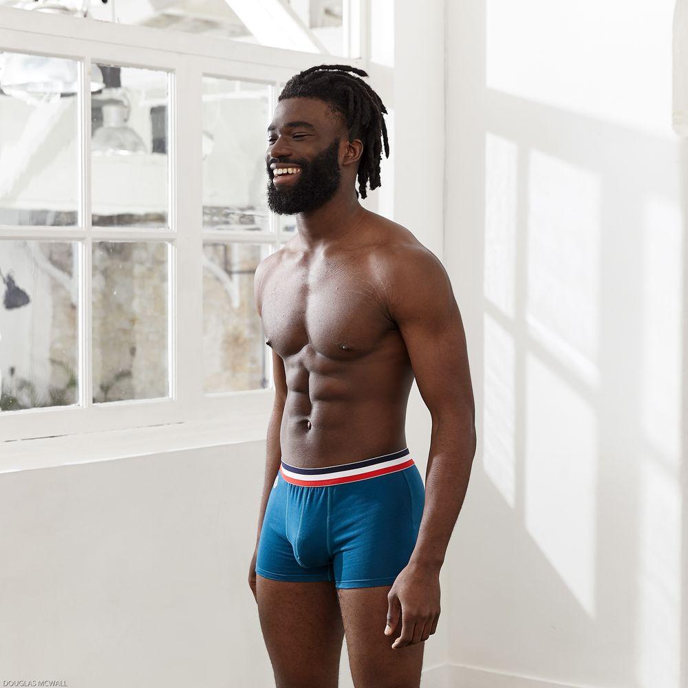 Boxer Homme Bleu Paon Le Slip Français