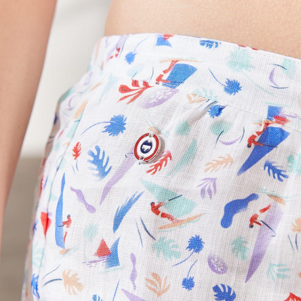 Pyjama Bas Femme Tropiques Le Slip Français