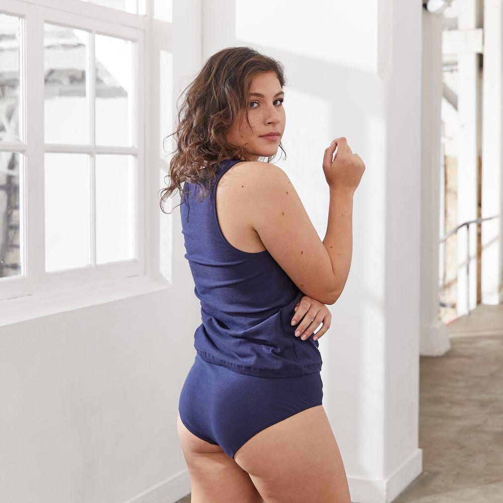 Easywear Haut Femme Bleu Marine Le Slip Français