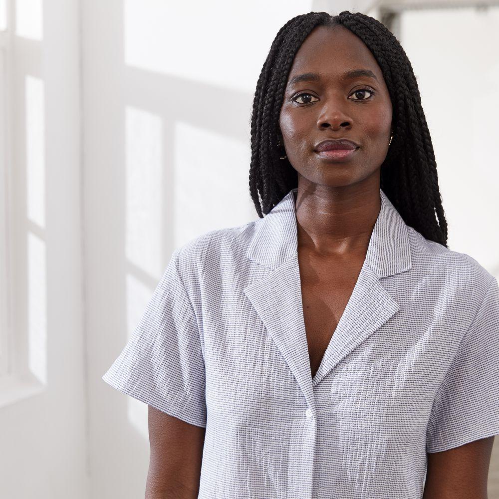 Pyjama Haut Femme Relief Ciel Le Slip Français