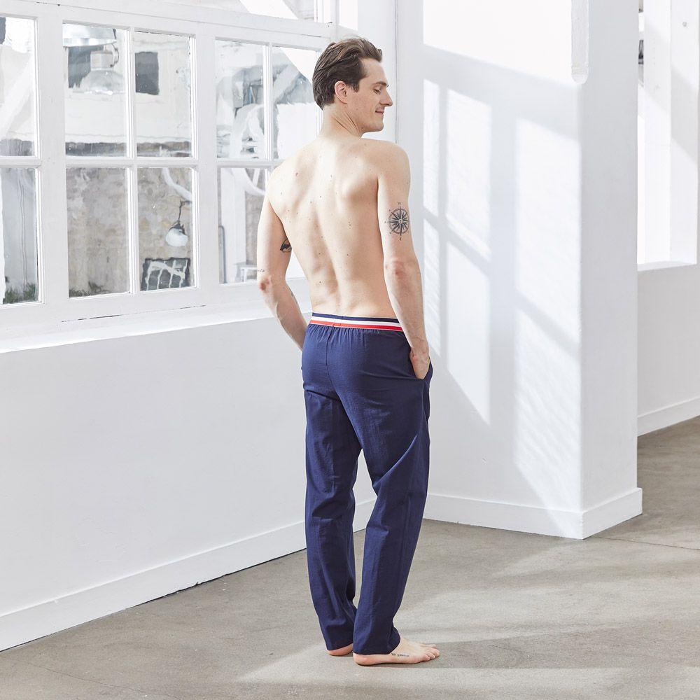 Pyjama Bas Homme Relief Le Slip Français