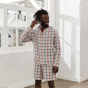 Chemise de pyjama en coton bio