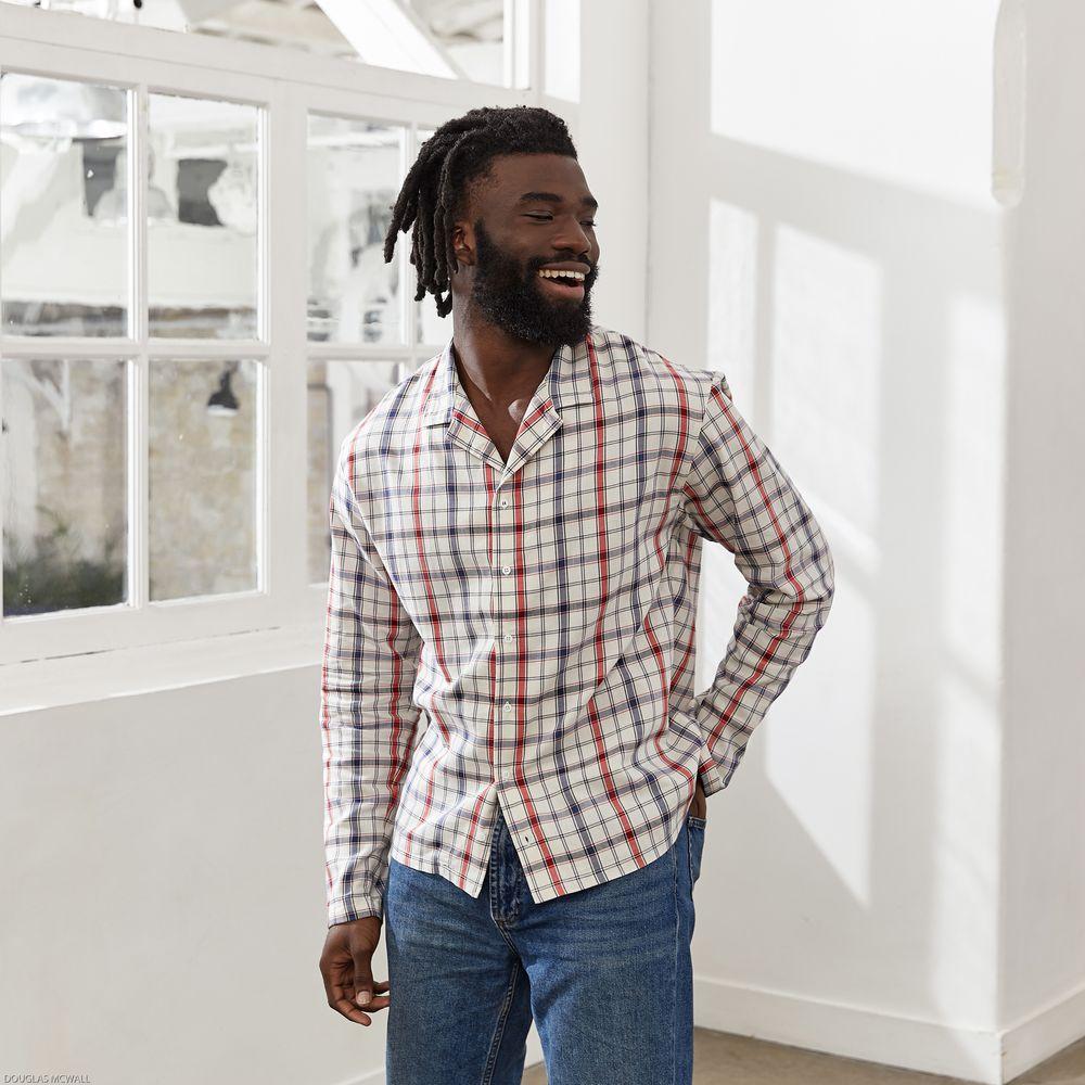 Chemise Homme Le Beranger Madras Le Slip Français
