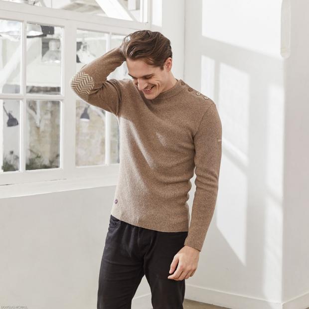 Pull en laine française