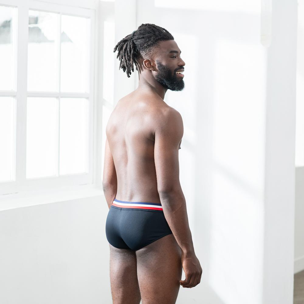 Slip De Bain Homme Black Le Slip Français