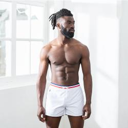Maillot de bain Le Capitaine - Short de bain blanc
