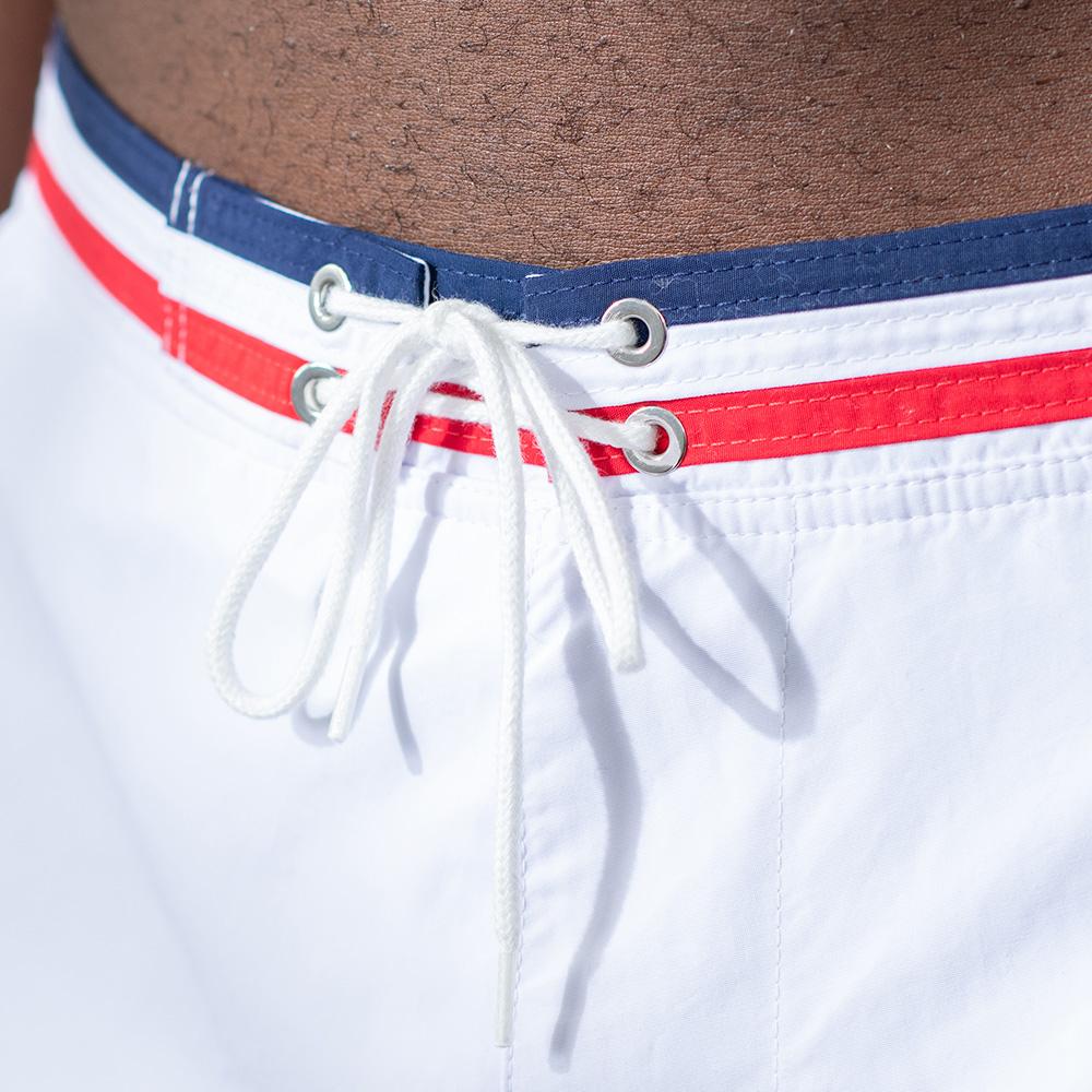 Short De Bain Homme White Le Slip Français