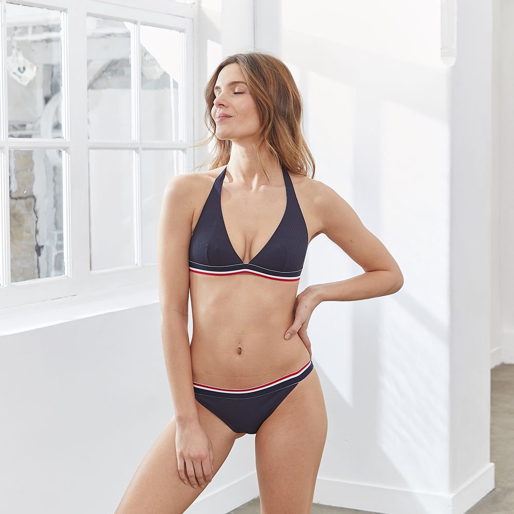 Bikini Femme La Ecume Marine Le Slip Français