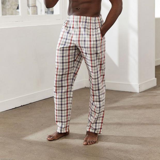 Pantalon de pyjama en coton bio