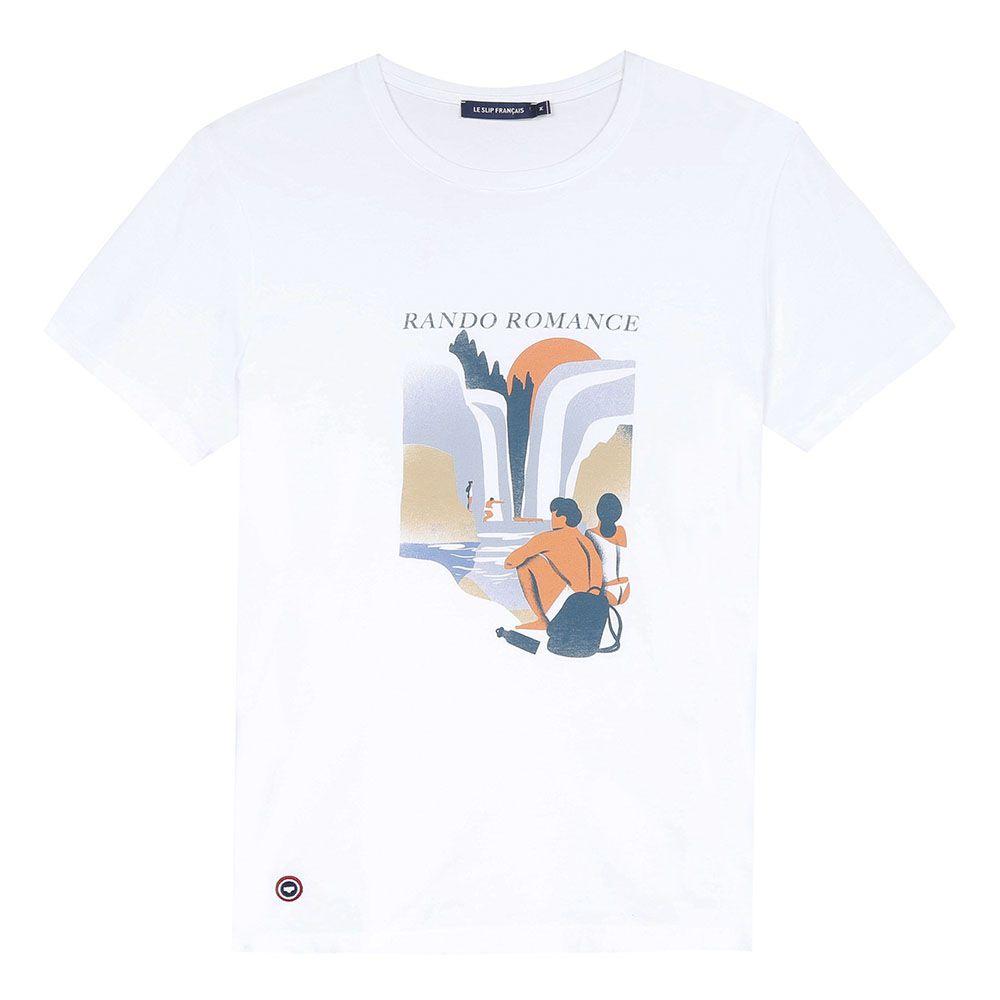 Easywear Haut Mixte Blanc/Rando Romance Le Slip Français