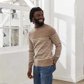 Pullover aus französischer Wolle