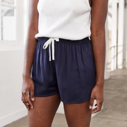 La Edith Marineblau - Marineblaue Shorts