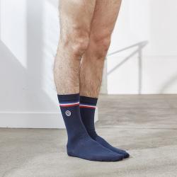 Les Lucas - Navy blue socks