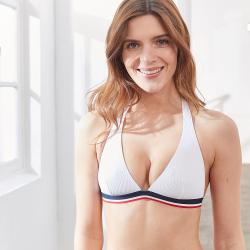 La Marée - Weißes Bikini Top