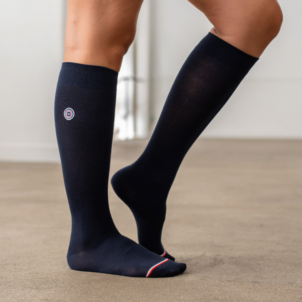 Navyblue knee-high socks