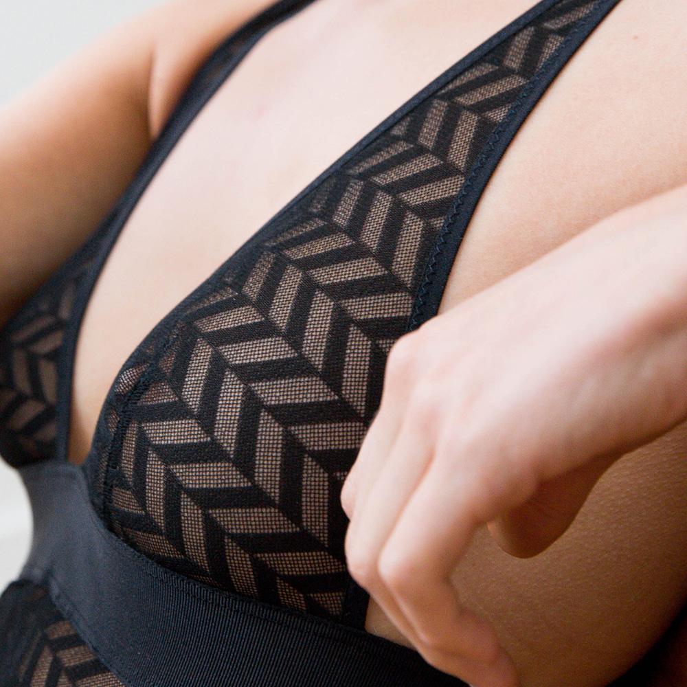 Body Lingerie Femme Noir/Noir Le Slip Français