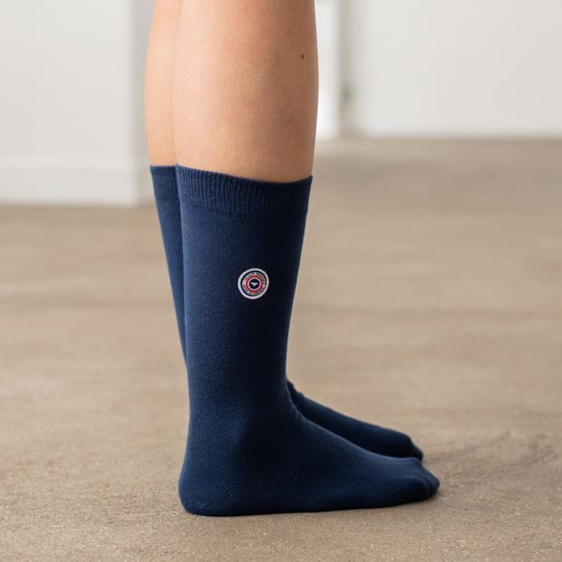 Navy blue socks