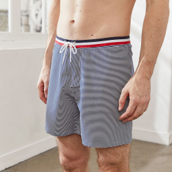 SHORT DE BAIN MI LONG LE MOUSSAILLON relief