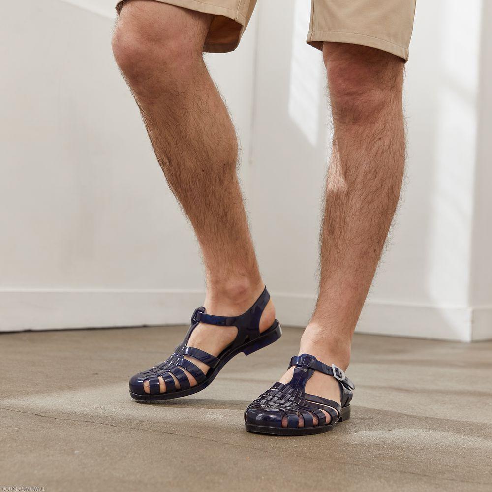 Chaussure Mixte Bleu Marine Le Slip Français