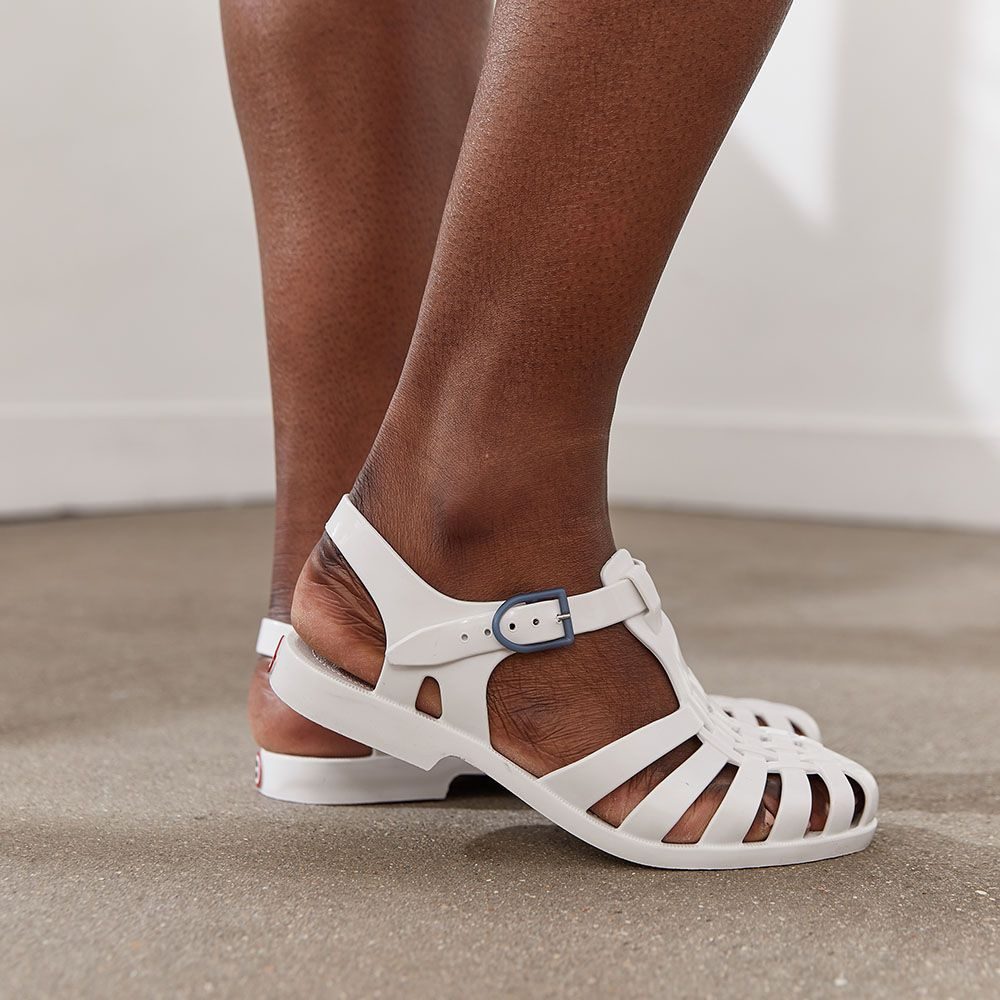 Chaussure Mixte Blanc Le Slip Français