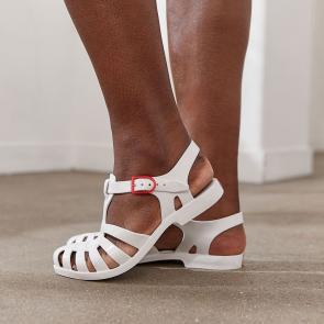 Sandalettes en PVC
