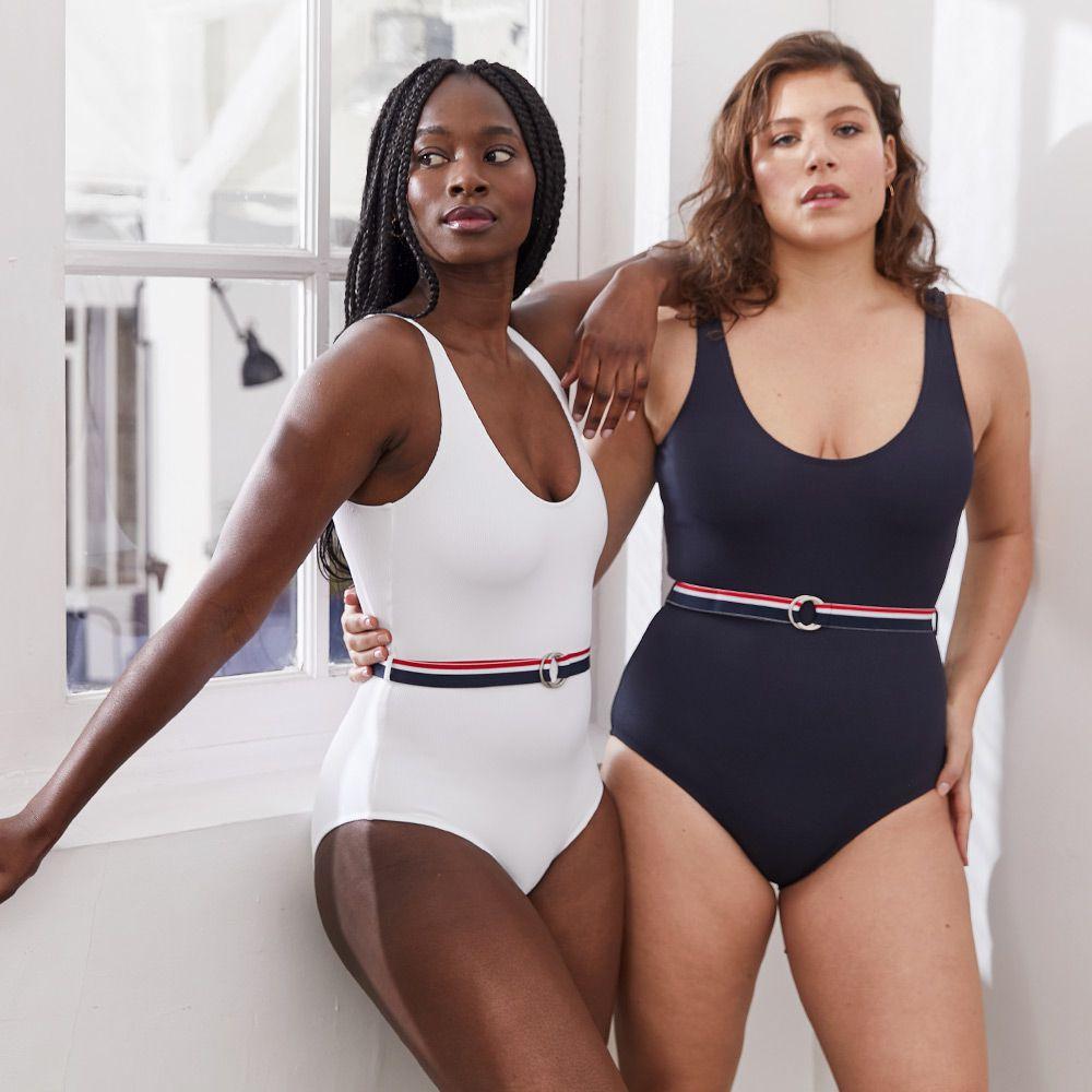 Une Piece Femme Blanc Le Slip Français