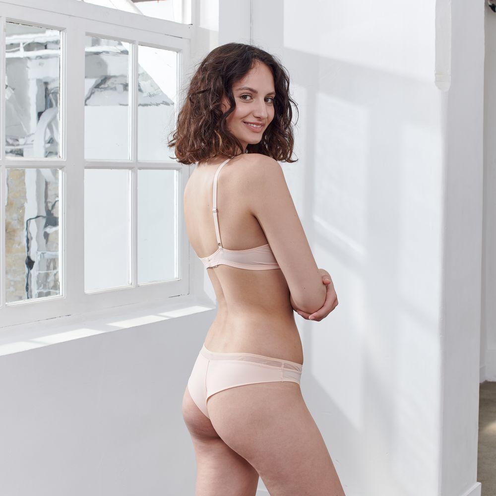 Soutien Gorge Femme Rose Poudre Le Slip Français