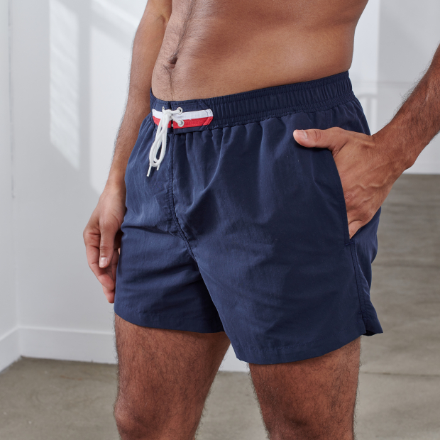 Badeshorts in Marineblau